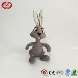 Sessão de pelúcia personalizada de personalidade adorável animal de coelho da Páscoa brinquedo