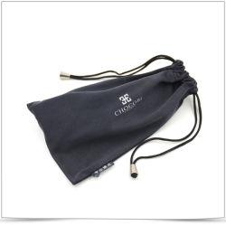 Beliebte Doppel Seite Kordelzug mit Perlen Mikrofaser Brillen Tasche