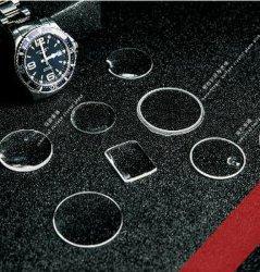 Al2O3 pour la lentille de verre de saphir bleu saphir fenêtre optique cristal de saphir verre de montre