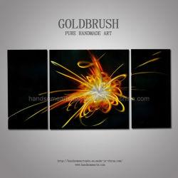 3d abstrait paroi métallique de l'artisanat d'étincelle / Art pour la décoration