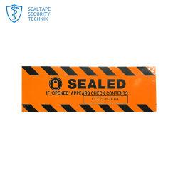 Numéro de série de gros rouleaux de l'emballage des étiquettes de codes à barres papier vierge Nom de l'autocollant de rouleau