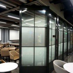 Bureau mur de verre pour salle de fonction