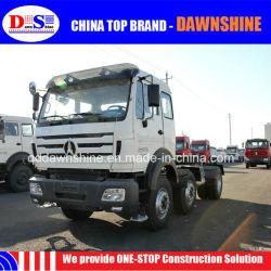 ベンツの技術の中国Beiben 6X2の8車輪336HP 375HP Rhd LHDのトレーラートラックのトラックヘッド