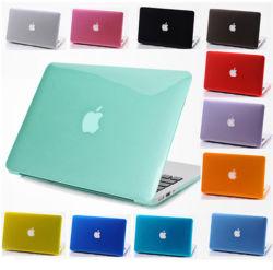 Прозрачный кристалл чехол для MacBook Air 11 12 13 15-дюймовый PRO сетчатки крышки защиты топливораспределительной рампы