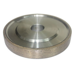 عجلة مسطحة من الماس بدون شكل خاص للقطع الزجاجي