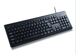 Nuevo estilo de fábrica resistente al agua al por mayor de los teclados con cable