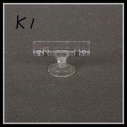 Хомут крепления Cupula домашних хозяйств и ПВХ пластика Pop всасывающий вверх фиксатор (K1)