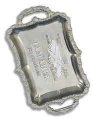 Het Asbakje van de Kaart van Jamaïca voor de Gift van de Bevordering (AT451)