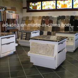Metall-/Quarz-/Granit-/Stein-Keramikziegel-Messeen-Bildschirmanzeige/Fahnen-Schieben und Fach-Schrank für Fliese-Ausstellung/Probe