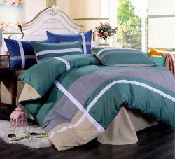 米国式の綿のパッチワークキルトの寝具カバーセット