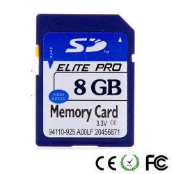 OEM完全な実質容量8GB SDのカード