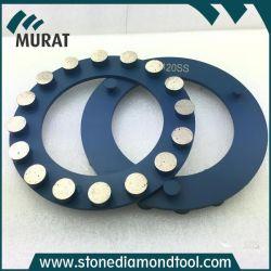 240мм Klindex раунда сегментов металлические Бонд шлифовки кольцо/ Алмазные инструменты