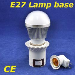 LED BulbのためのE27 LED Lamp Base Adapter