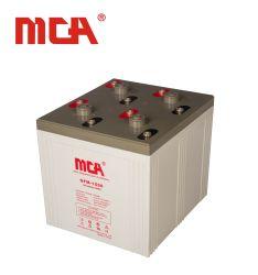 La sécurité et protection environnementale de 2 volts batterie de l'alimentation 1500ah parfait