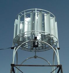 3kw triphasé sur-Gird Turbine éolienne à axe vertical (SHJ-Nouveau3000)