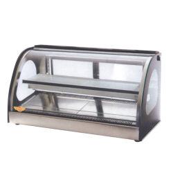 precio de fábrica Non-Refrigeration Cake Bakery mostrador de exposición con luz LED