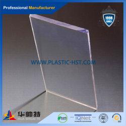 Colada transparente de alta calidad panel acrílico