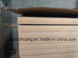 Material de fibra de madeira e a Planície de uso interior/Raw MDF/HDF Board 1220*2440mm do fornecedor da China