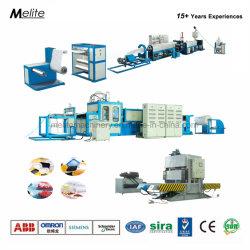 China Fabricante espuma PS Lancheira Espuma descartáveis Bandeja Bolo de linha de produção (MT105/120)