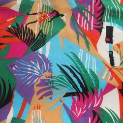 A melhor qualidade de impressão digital Charmeuse luxuosos tecidos de seda