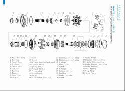 Kit de réparation de remplacement de pièces de rechange Poclain