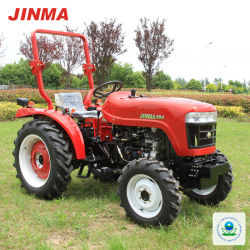 EPA 증명서를 가진 Jinma 4WD 25HP 바퀴 농장 트랙터