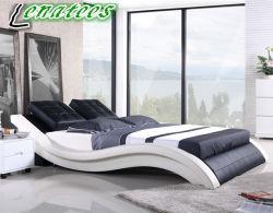 A021 Élément populaire lit double meubles Design