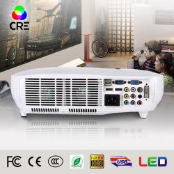 Commerce de gros LED Accueil Vidéo projecteur HD Smart WiFi