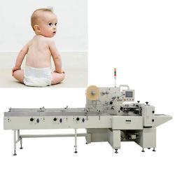 L'imballaggio del documento del pannolino del bambino richiede la macchina avvolgitrice assistenza