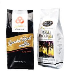 La Chine produit Cravate d'étain de fèves de café Café personnalisé d'emballage des sacs de fèves de café de gros de l'emballage