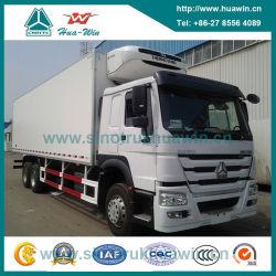 Sinotruk HOWO 6X4 Thermo King congélateur Réfrigérateur camion réfrigéré de refroidissement