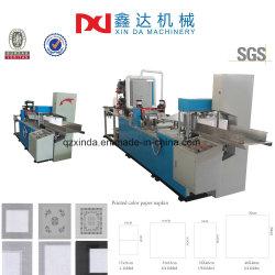 الطباعة بالألوان Servette ماكينات طي الأنسجة المطوية ذات النقوش البارزة من Nakin