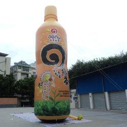 Kundenspezifisches aufblasbares Flaschen-Modell für Produktions-Förderung