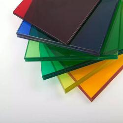 La lamination en verre de couleur différente du film EVA