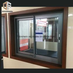 PVC di alluminio UPVC Windows scorrevole verticale di legno solido della grande rottura termica di vetro della finestra francese