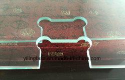 Chuveiro Porta de vidro temperado com recorte do orifício precisa