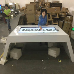 Dedi 43 Pulgadas de pantalla táctil capacitiva de señalización digital de instrumentos, pantalla táctil de la mesa