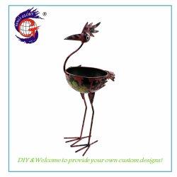 Handmade Metal Bird Flower Pot du semoir pour la décoration d'accueil