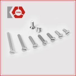 La norme DIN7971 en acier inoxydable vis autotaraudeuses à tête cylindrique fendue