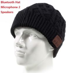 Chapéu de Bluetooth Wireless Bluetooth Beanie Hat, sem fio dos auscultadores Bluetooth Headset com Mricrophone para desportos ao ar livre a pé Esqui Caminhadas Skate chamada de música