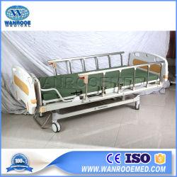 بام201 المعدات الطبية اليدوية تستخدم الأسر سرير المرضى في المستشفى مع العجلات