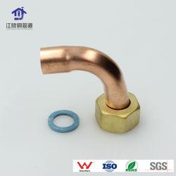 Junta do tubo de latão cotovelo do tubo de tomada de acessórios para tubos de refrigeração