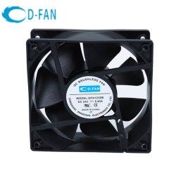 1238 ventilator die Ventilator van de Uitlaat van 120X120X38mm gelijkstroom Obm de Koelere Elektrische koelen