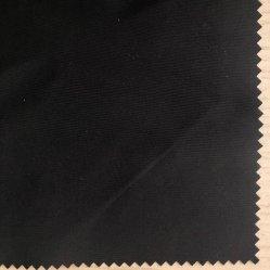 75D FDY chaîne et trame tissu de polyester torsadée, imitation tissu enduit de mémoire