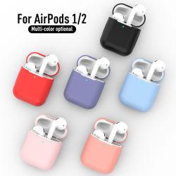 De nouveaux cas d'Airpods Silicone Airpod1 2ND la housse de protection de luxe de l'écouteur pour Apple Airpods Cas 1&2 résistant aux chocs