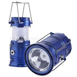 6PCS Lanterna Solar Portátil de LED para interior e exterior