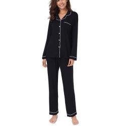 Nouveau mode de gros Nighty Pajama deux pièces ensemble de vêtements de nuit