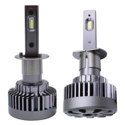 H4 LED Scheinwerfer mit VERSTECKTEM Xenon H7 H11