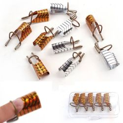 Formulário de unhas de Prata Duplo reutilizáveis para pistolas a arte de fazer