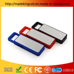 새로운 선물 사용자 지정 푸시 풀 로고 공장 도매 풀 용량 USB 스틱